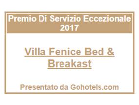 certificato di eccellenza gohotels villa fenice vieste